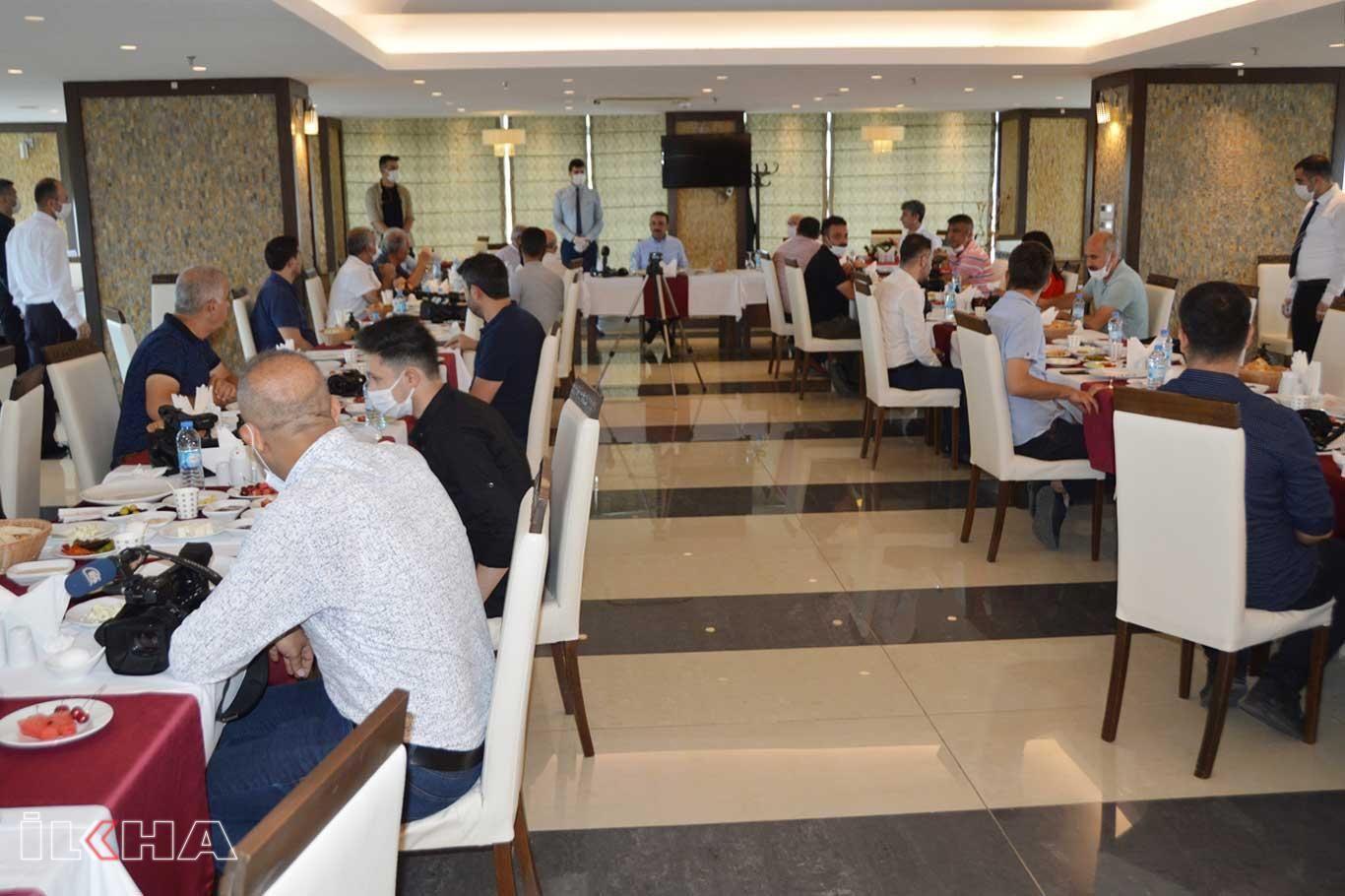 Siirt Valisi Hacıbektaşoğlu basın mensuplarıyla buluştu