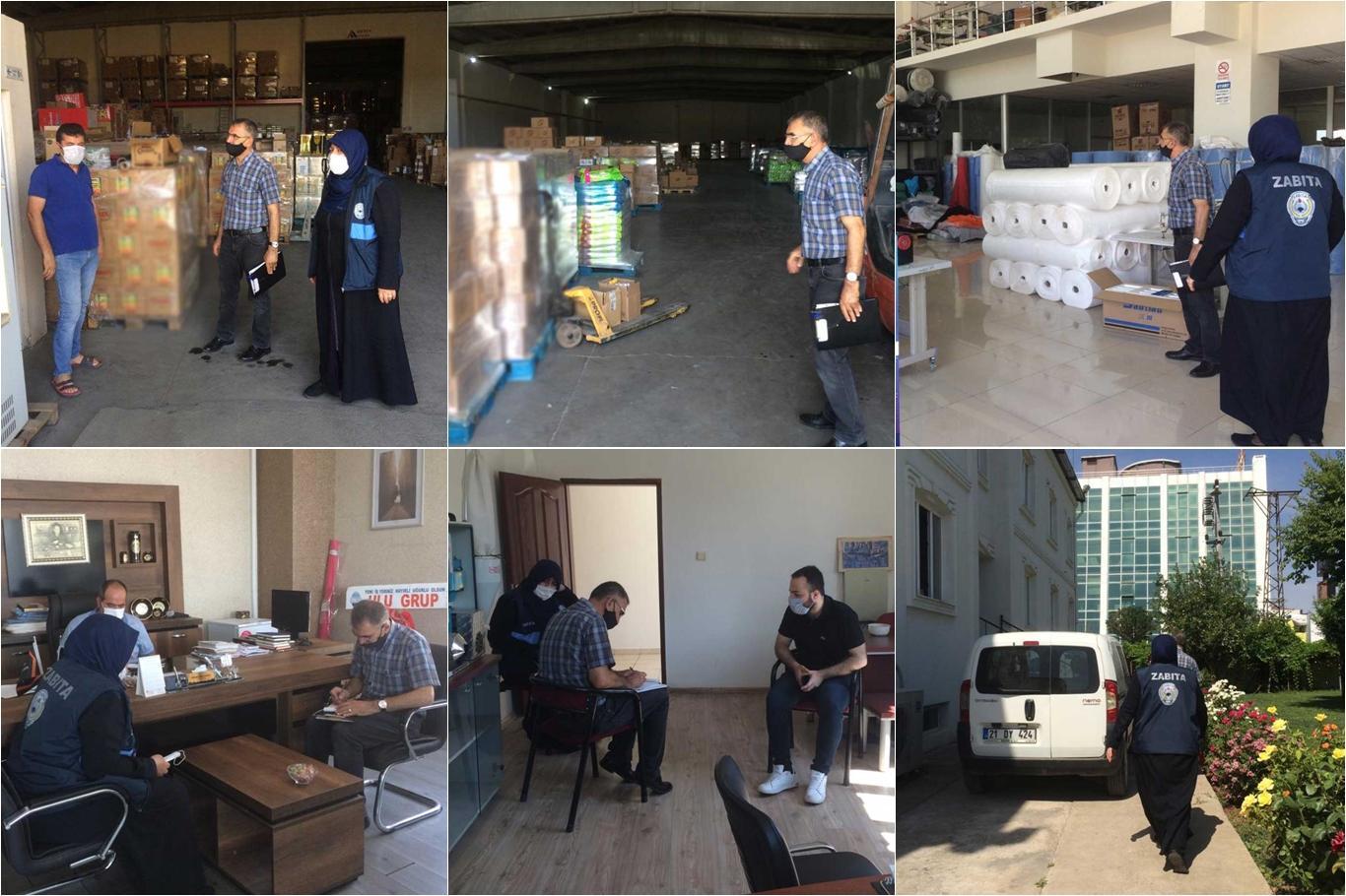 Diyarbakır Bağlar Belediyesinden işletmelere ruhsat denetimi