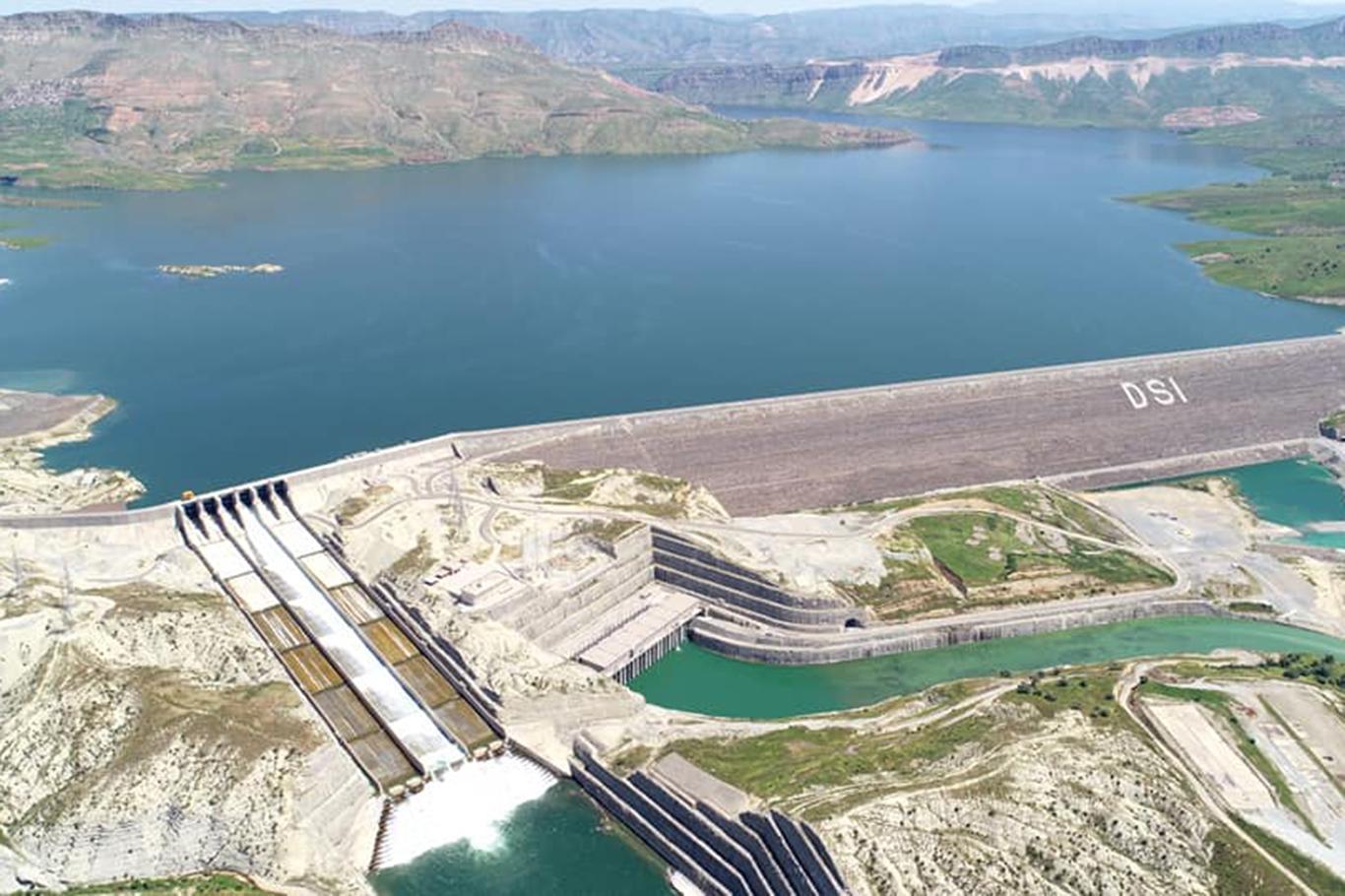 DSİ: Ilısu Veysel Eroğlu Barajında 3üncü türbin devreye girdi