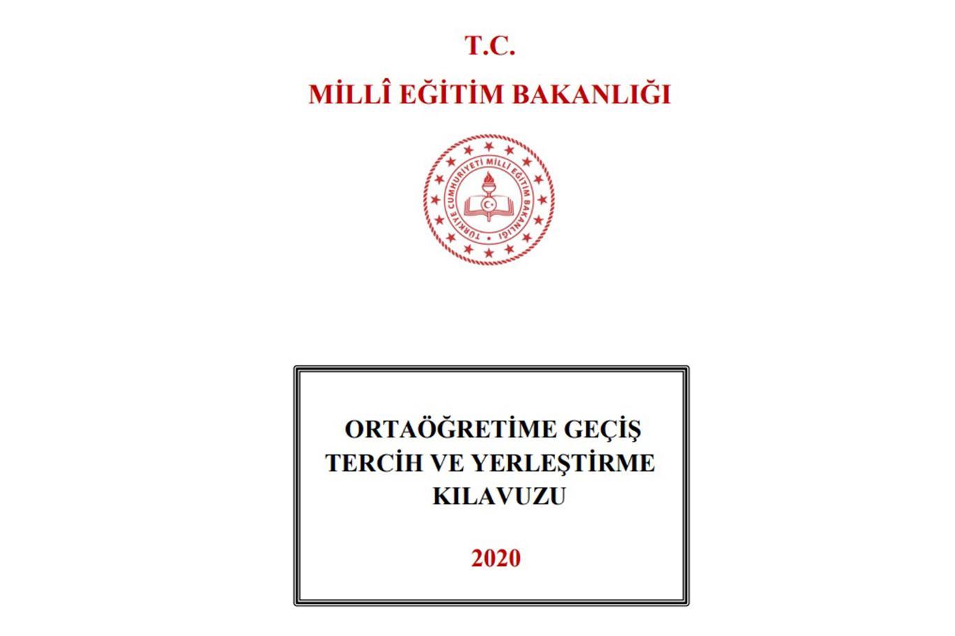 LGS tercih ve yerleştirme kılavuzu yayımlandı