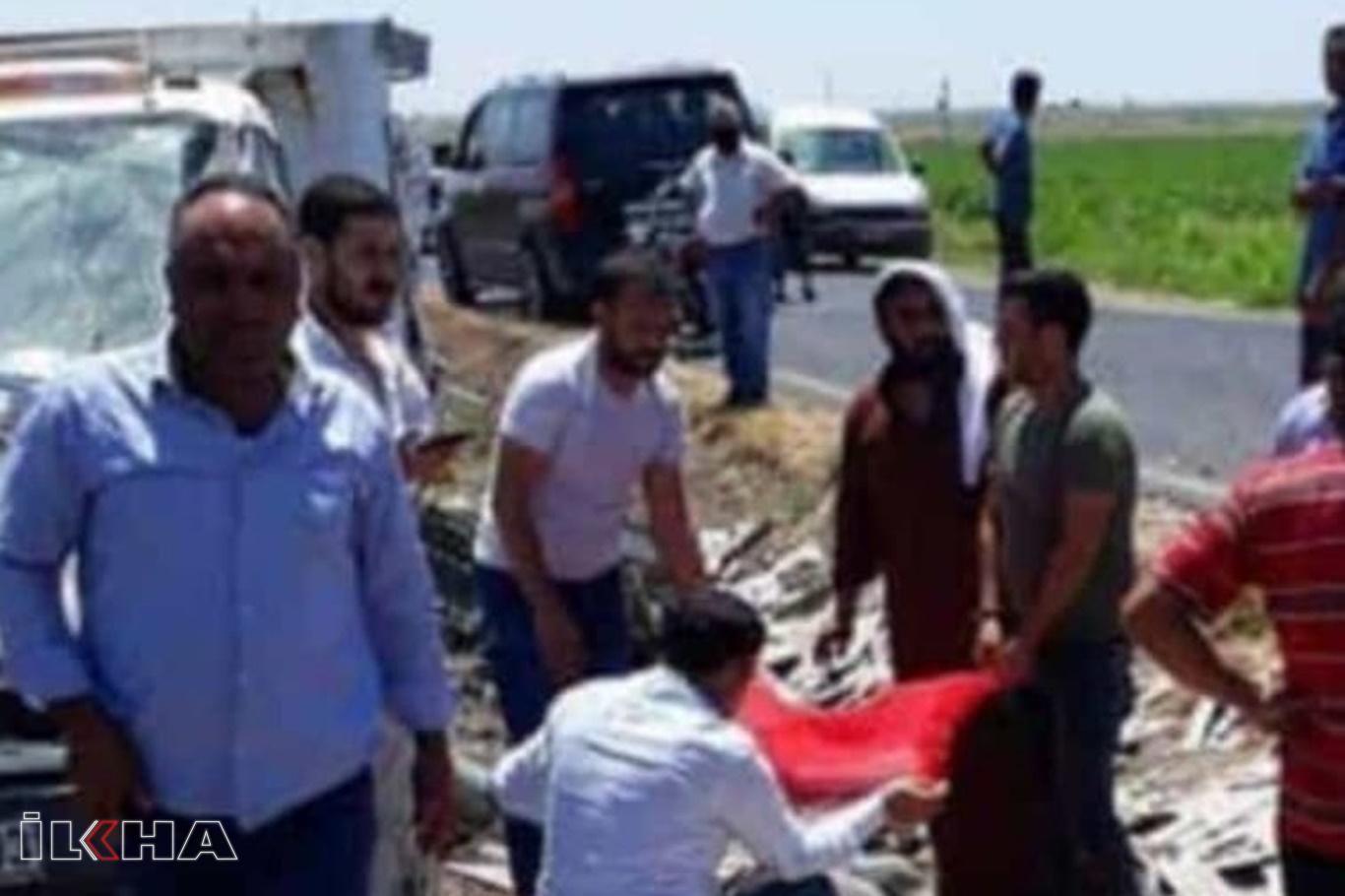 Şanlıurfa'da mermer yüklü pikap devrildi: Bir ölü