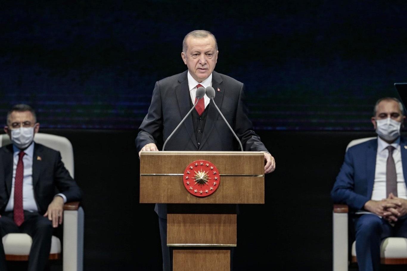 """Erdoğan: """"Türkiye, krizlere karşı daha etkin refleksler verebilme imkanına kavuştu"""""""