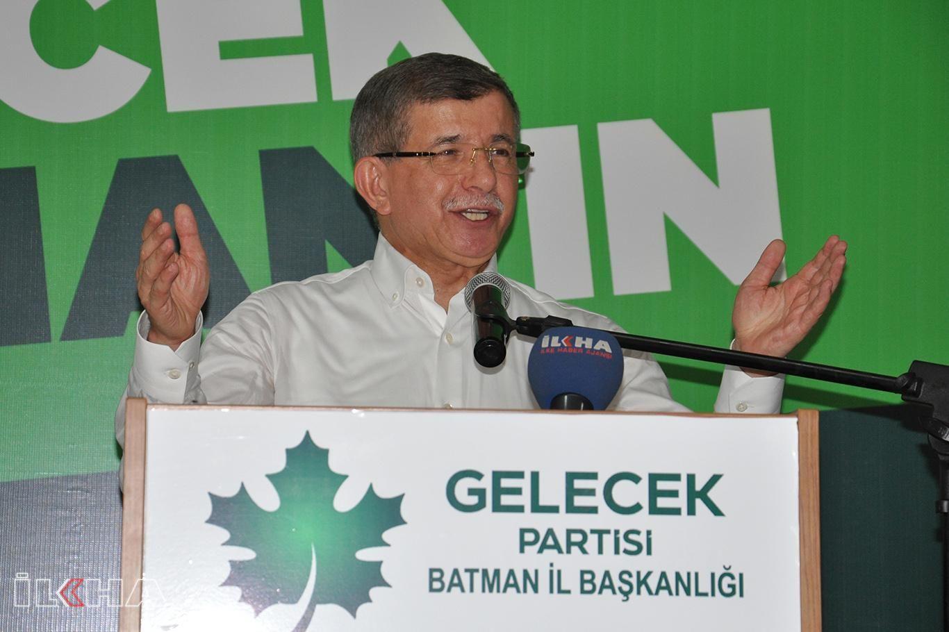 Gelecek Partisi Genel Başkanı Davutoğlu: Eski Türkiye'ye dönüş süreci yaşanıyor