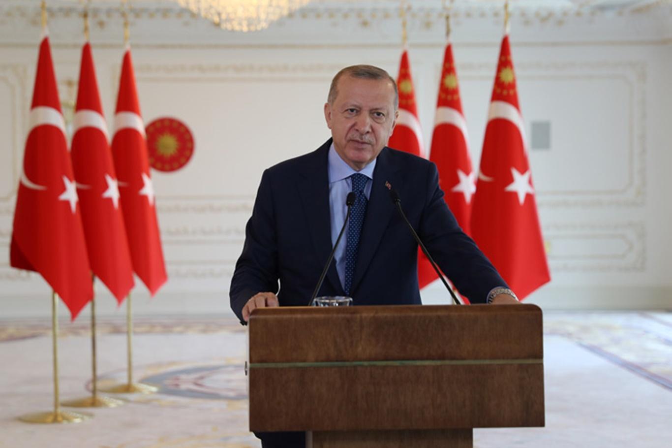 Erdoğan: Gürültü çıkaranların derdi Ayasofya değil Müslümanların bu coğrafyadaki varlığı