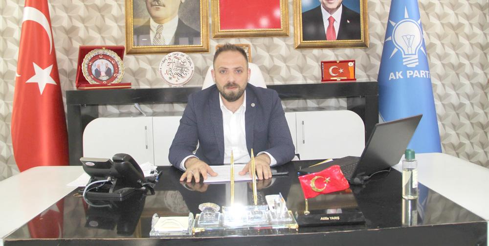 Ak Parti İlçe Başkanı Yarış'tan Bayram Kutlama Mesajı