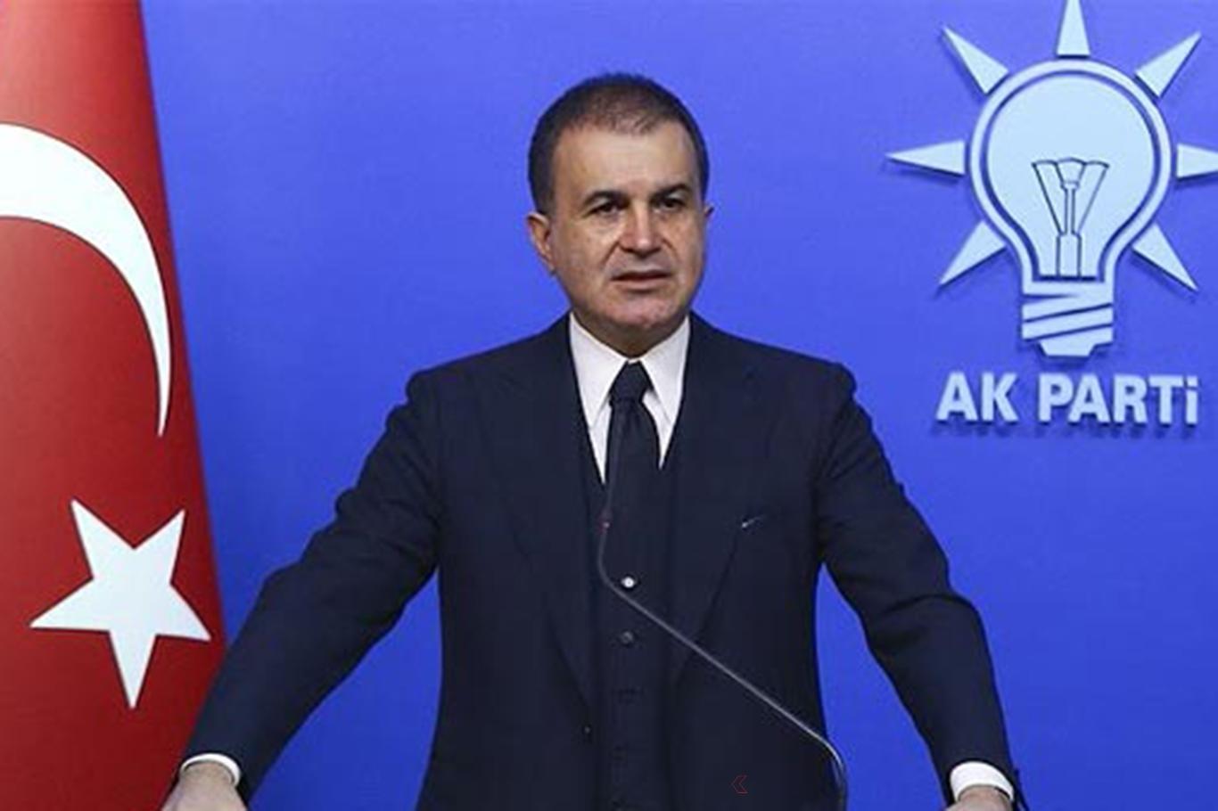 AK Parti Sözcüsü Çelikten Lübnan açıklaması