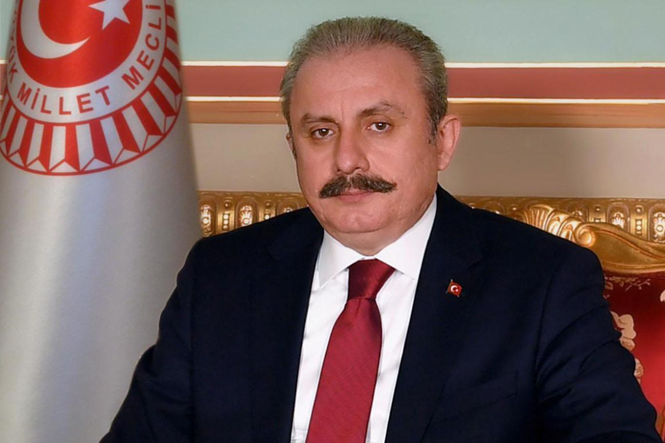 TBMM Başkanı Şentop: Türkiye pek çok ülkede olduğu gibi Lübnan halkına da el uzatacaktır
