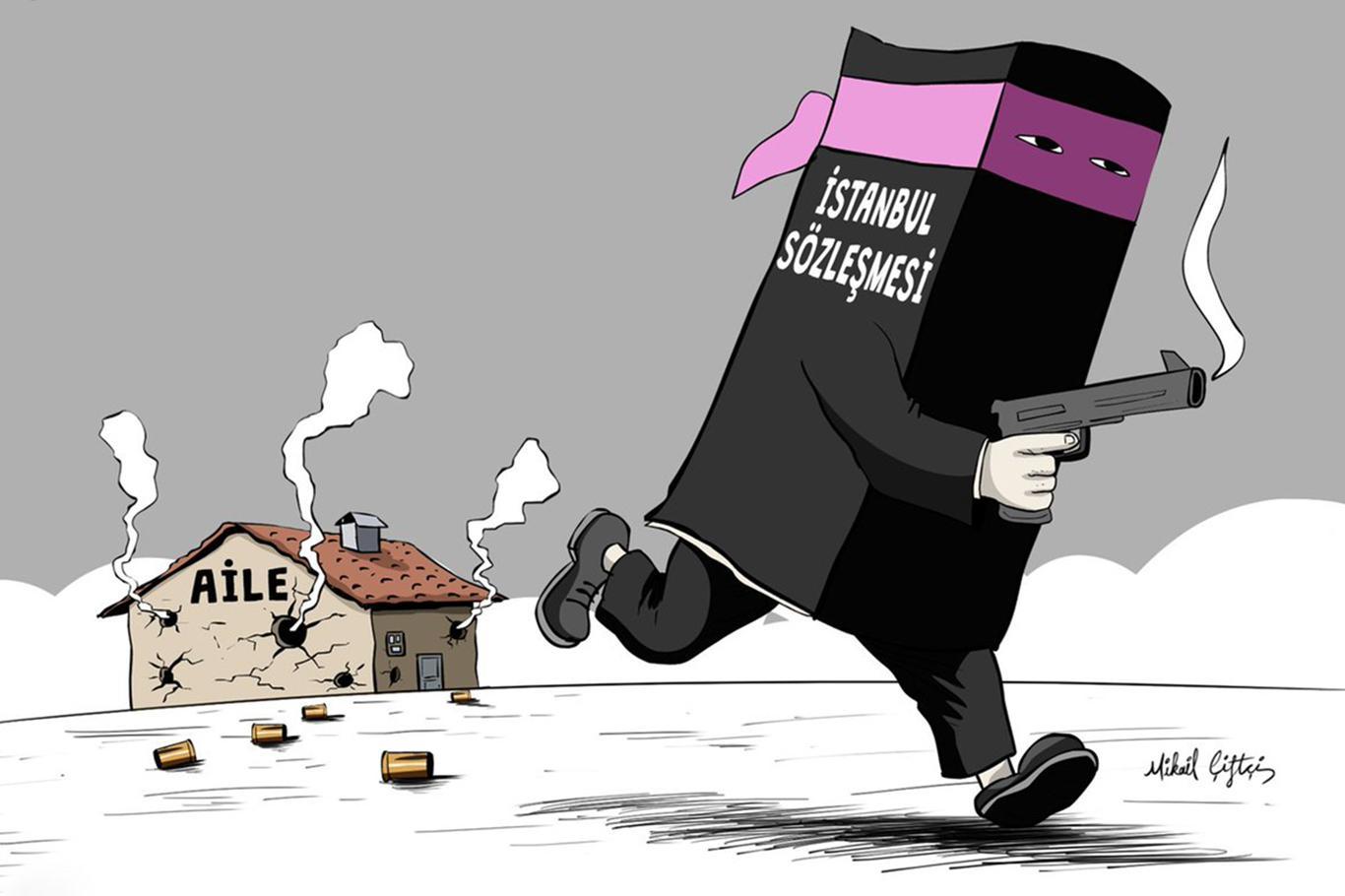 İstanbul Sözleşmesi ile kadına şiddet 4 kat arttı