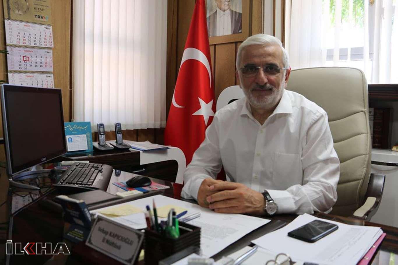 Covid-19'a yakalanan Siirt Müftüsü Kapıcıoğlu yoğun bakımdan çıkarıldı