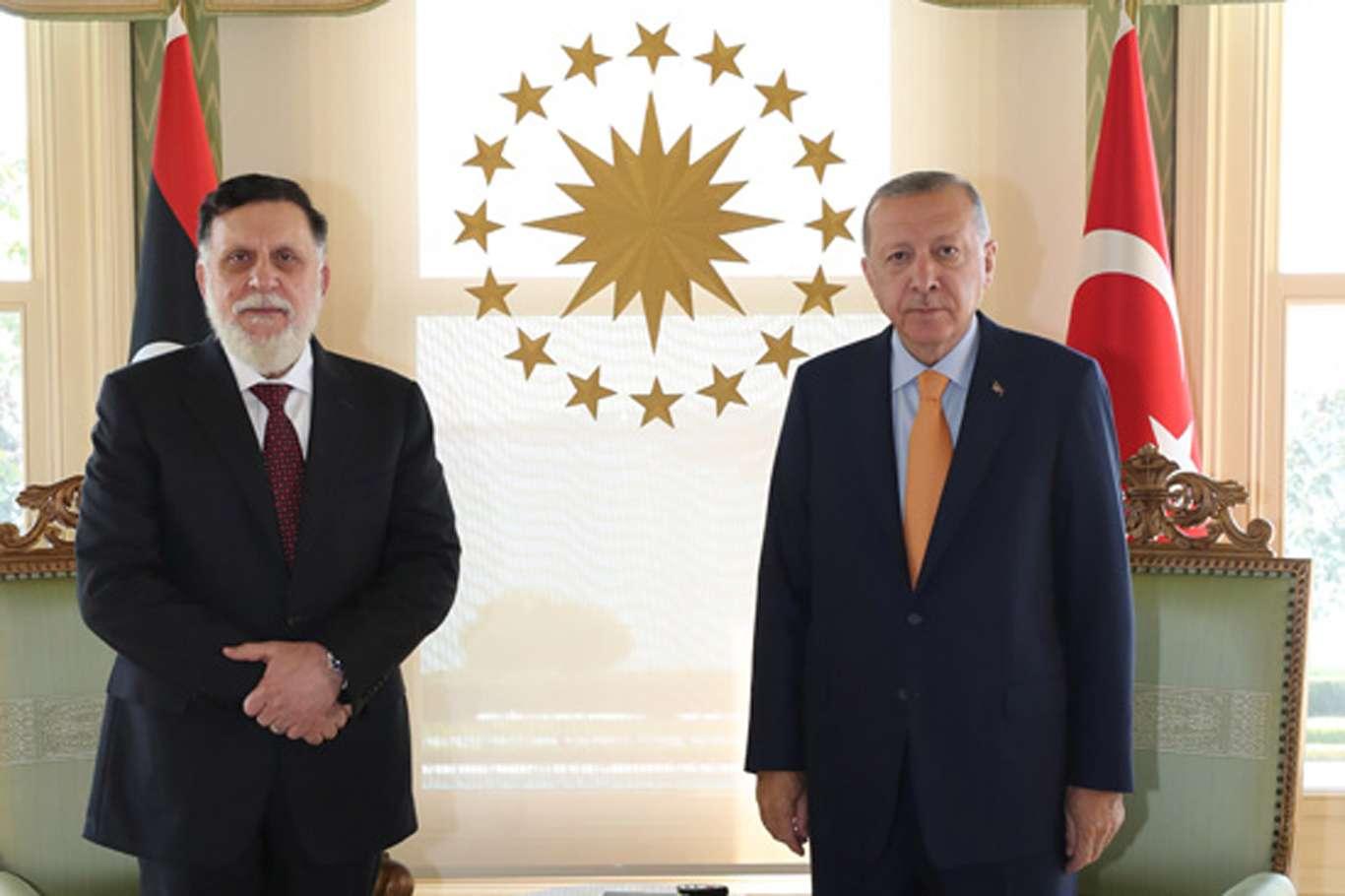 Cumhurbaşkanı Erdoğan ile Libya Başbakanı Es-Serrac görüşmesine ilişkin açıklama