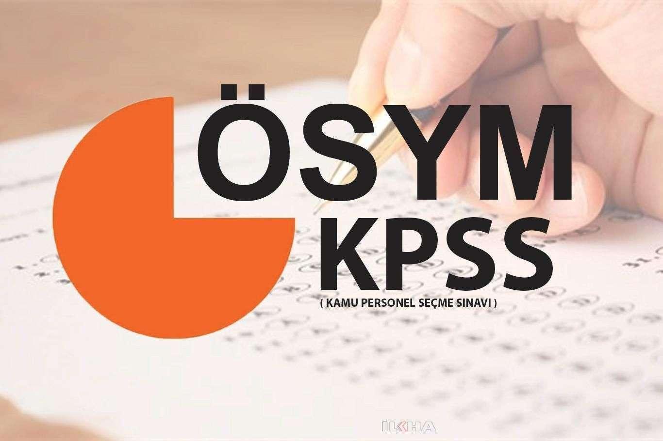 KPSS soru kitapçığı ve cevap anahtarı yayınlandı