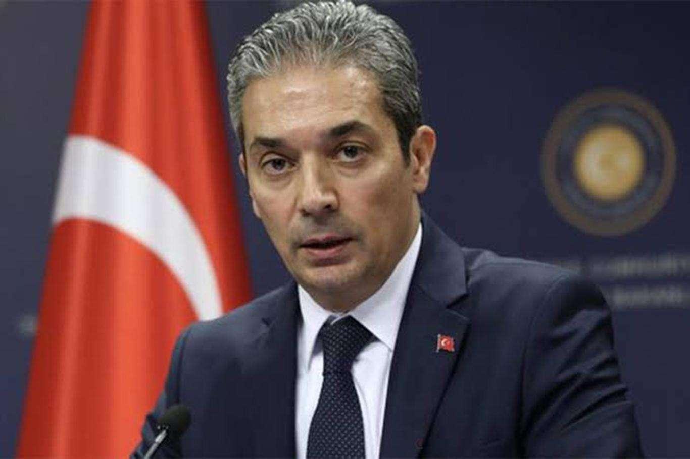 Dışişleri Bakanlığı: Siyasi eşitlik olmadan Kıbrısta müzakere olmaz