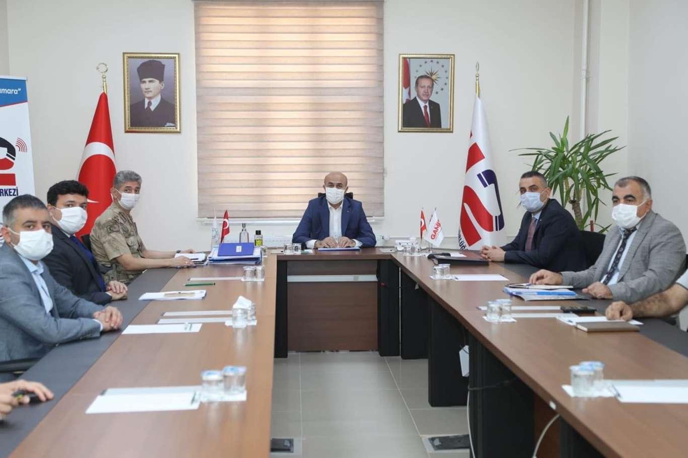 Mardin'de 112 Acil Çağrı Merkezi İl Koordinasyon toplantısı yapıldı