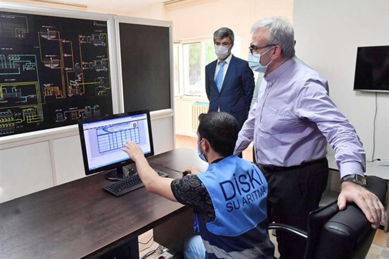 Diyarbakır Valisi Karaloğlu, DİSKİnin çalışma alanlarını inceledi