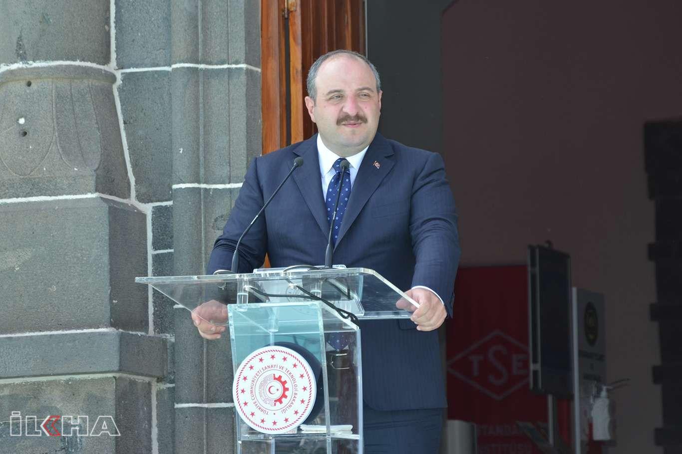 Sanayi ve Teknoloji Bakanı Varank Diyarbakırda