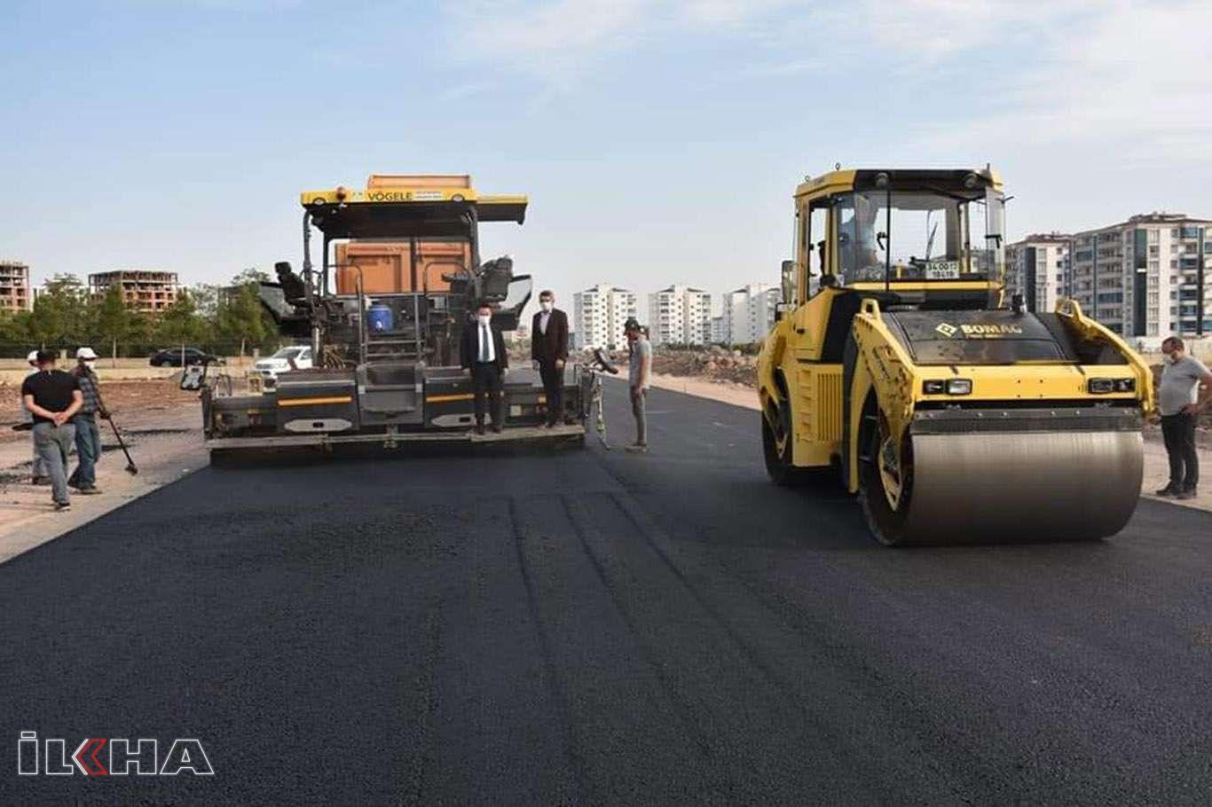 Diyarbakırda cadde ve sokaklar kışa hazırlanıyor