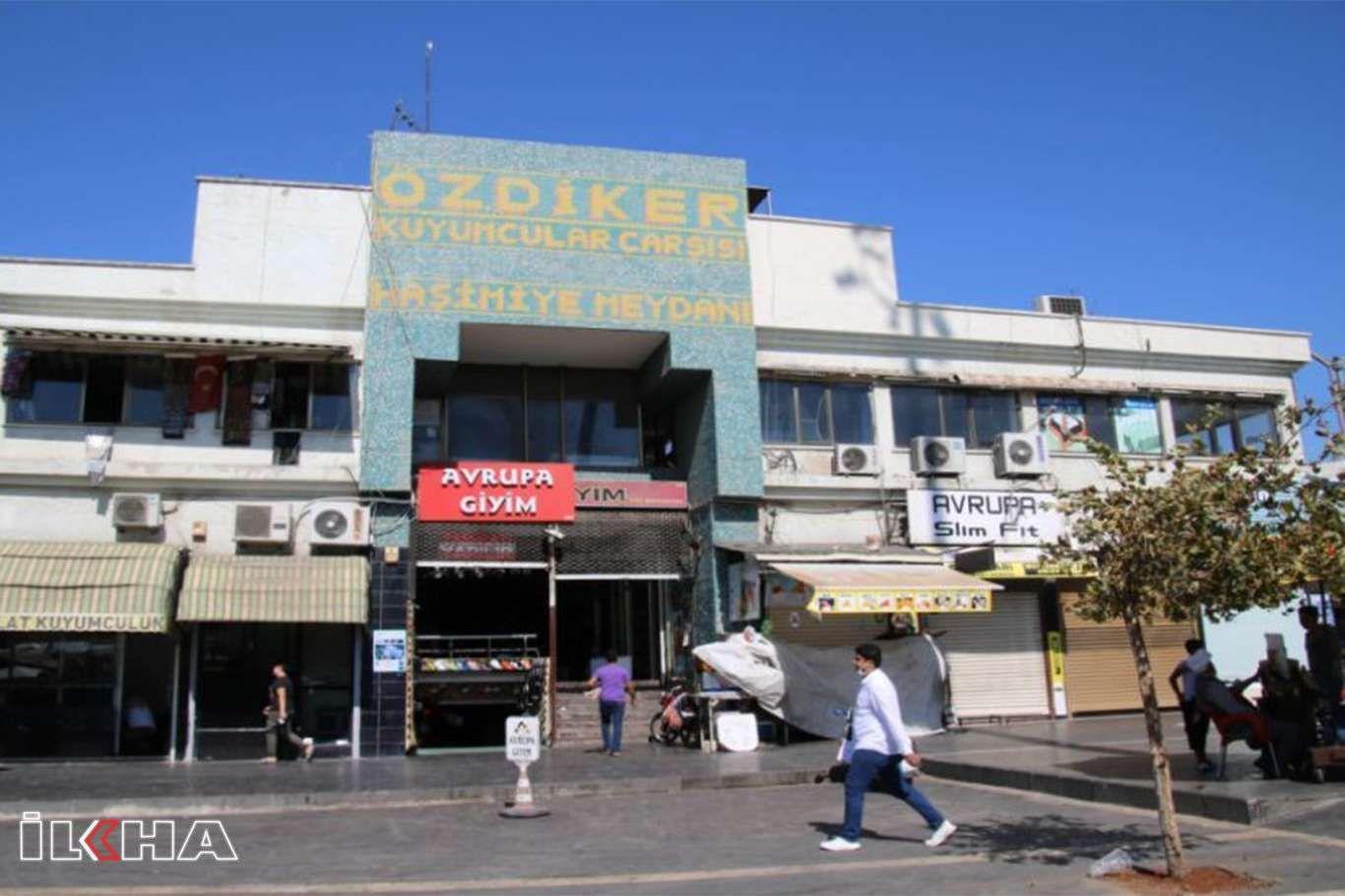 Şanlıurfa Kuyumcular Çarşısı esnafı işyerlerinin yıkılma kararına tepkili
