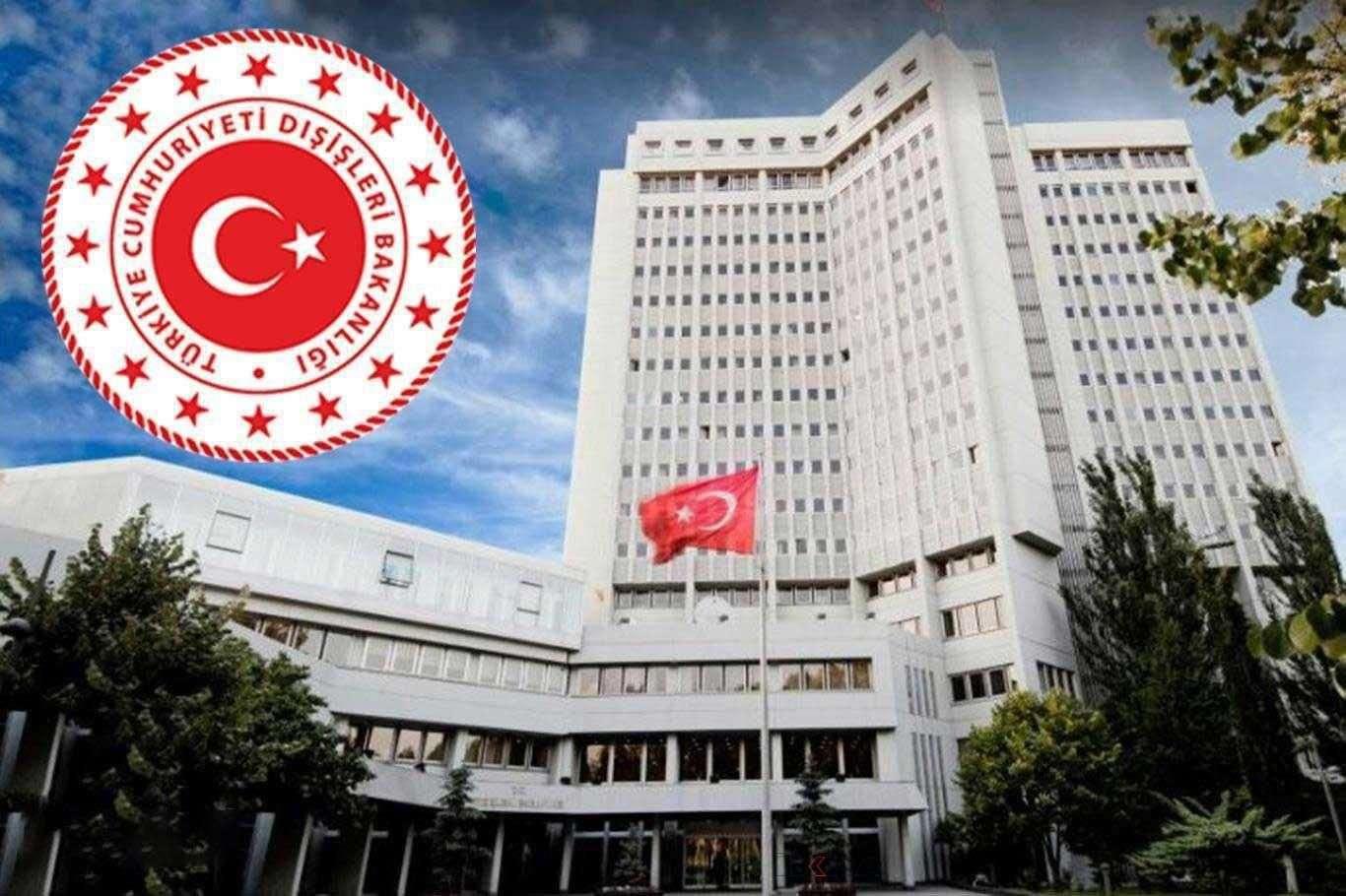 Dışişleri Bakanlığı Yunanistanın gerginliği tırmandırdığını duyurdu