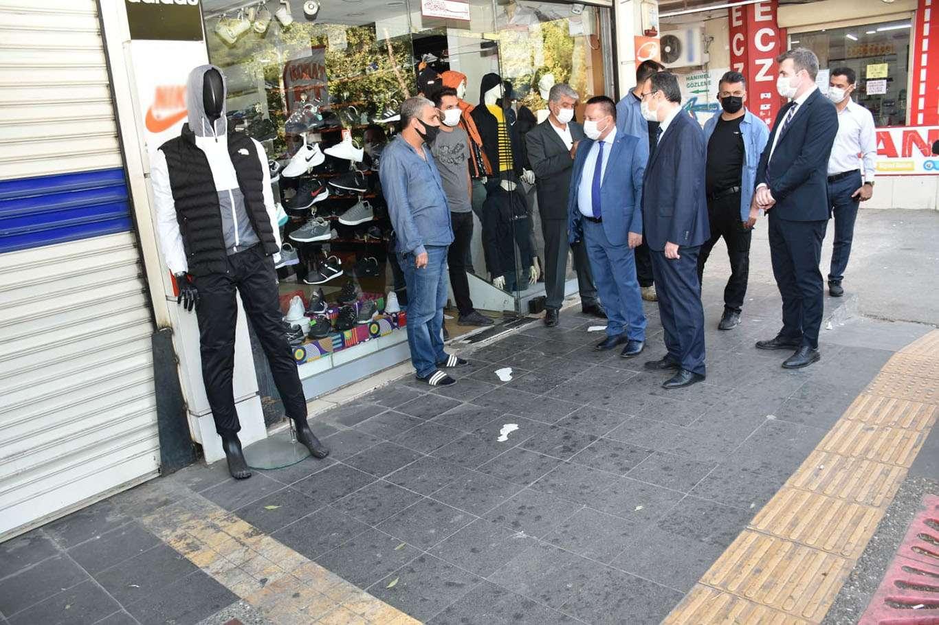 Diyarbakır'da Covid-19 denetimleri devam ediyor