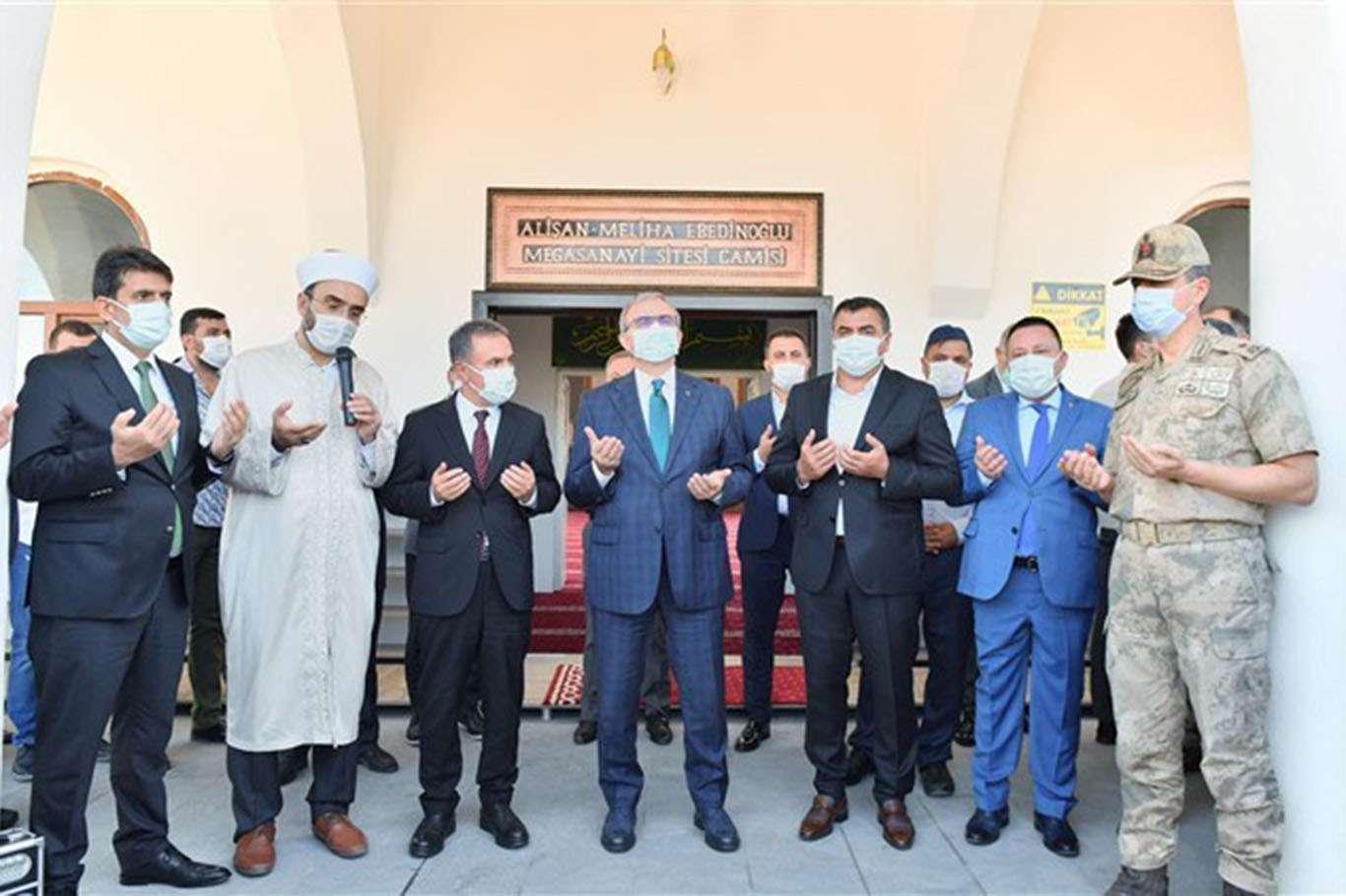 Diyarbakır Mega Sanayi Sitesi Camisi ibadete açıldı