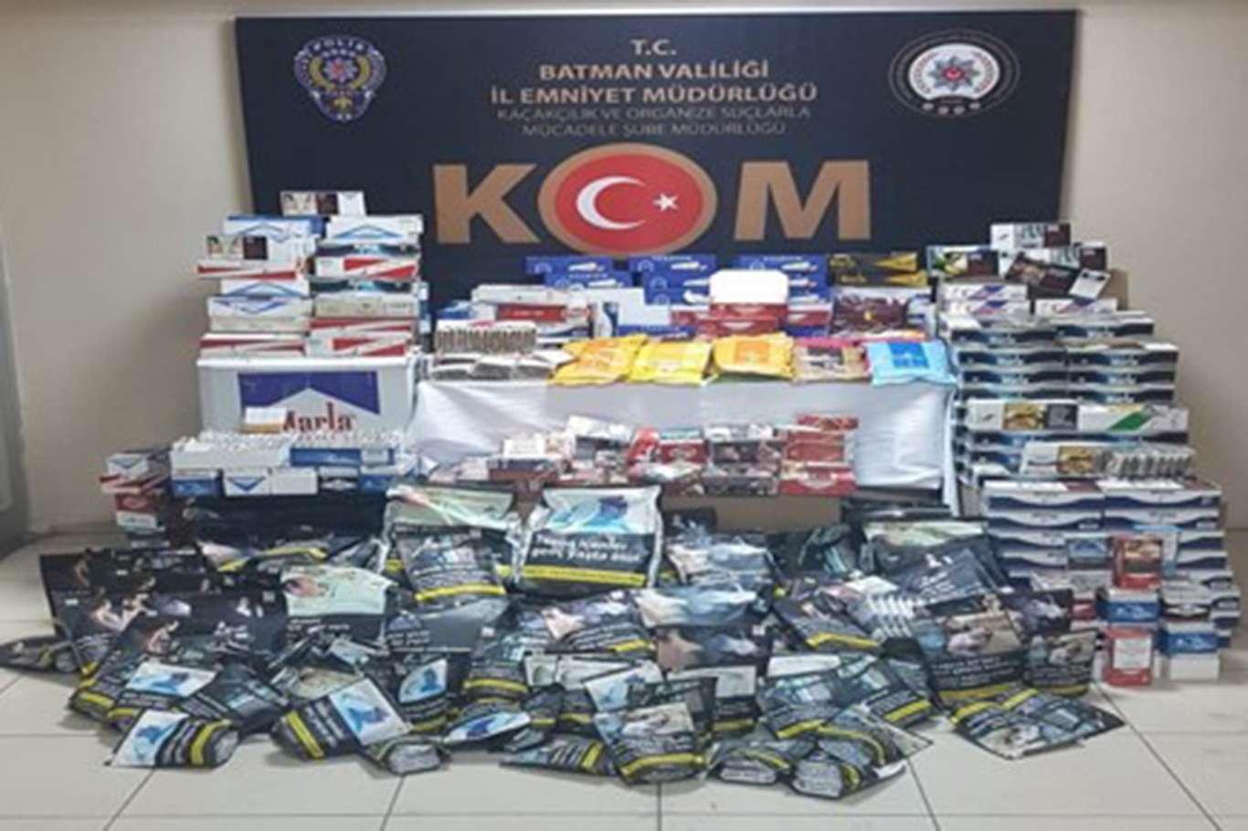 Kaçakçılık yaptıkları iddiasıyla 64 şüpheli gözaltına alındı