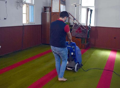 Mardin'deki camiler temizlendi