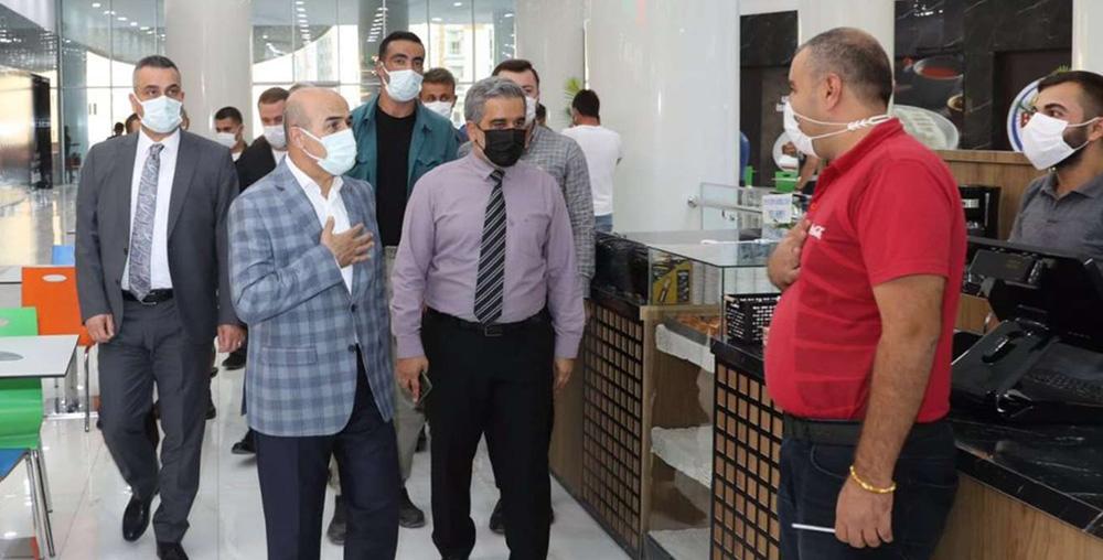 Mardin'de Coronavirus tedbirleri denetimi yapıldı