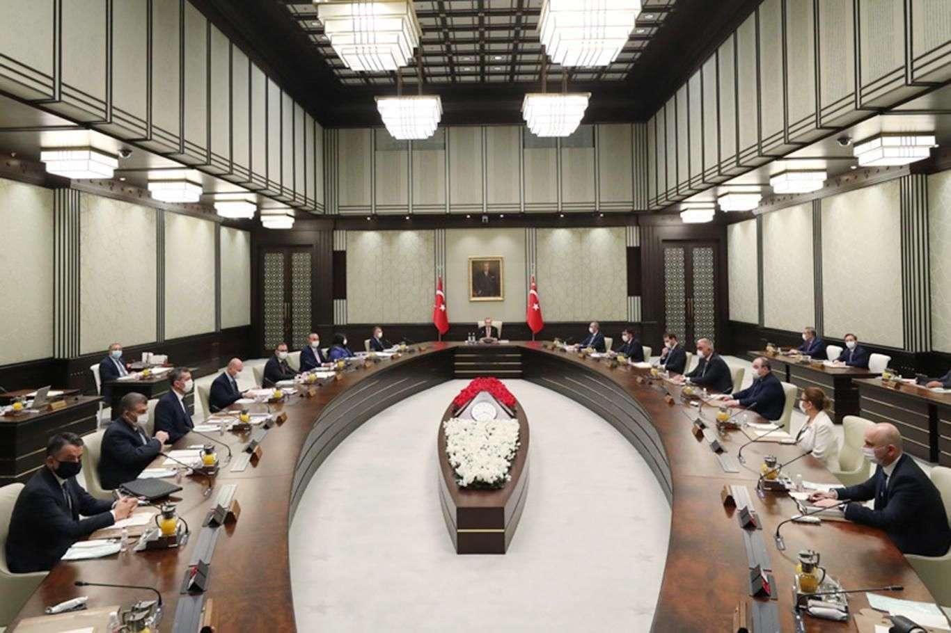 Cumhurbaşkanlığı Kabinesi yoğun gündemle toplanacak