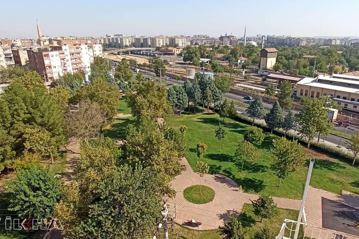 Diyarbakır'daki yeşil alanlar yapılan bakım çalışmalarıyla korunuyor