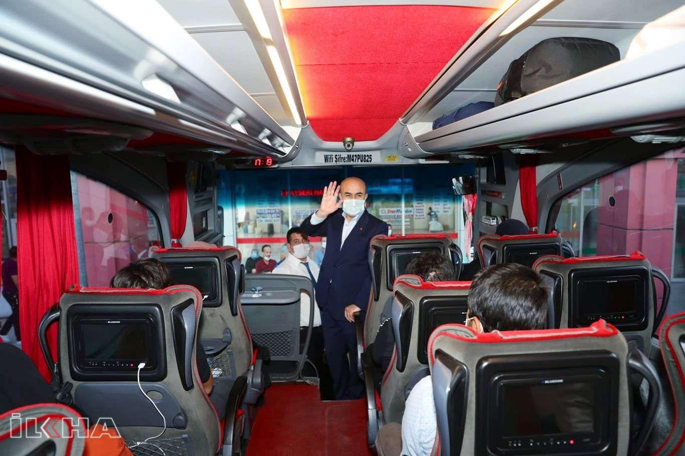 Mardin Şehirlerarası Otobüs Terminali'nde Coronavirus tedbirleri denetimi yapıldı