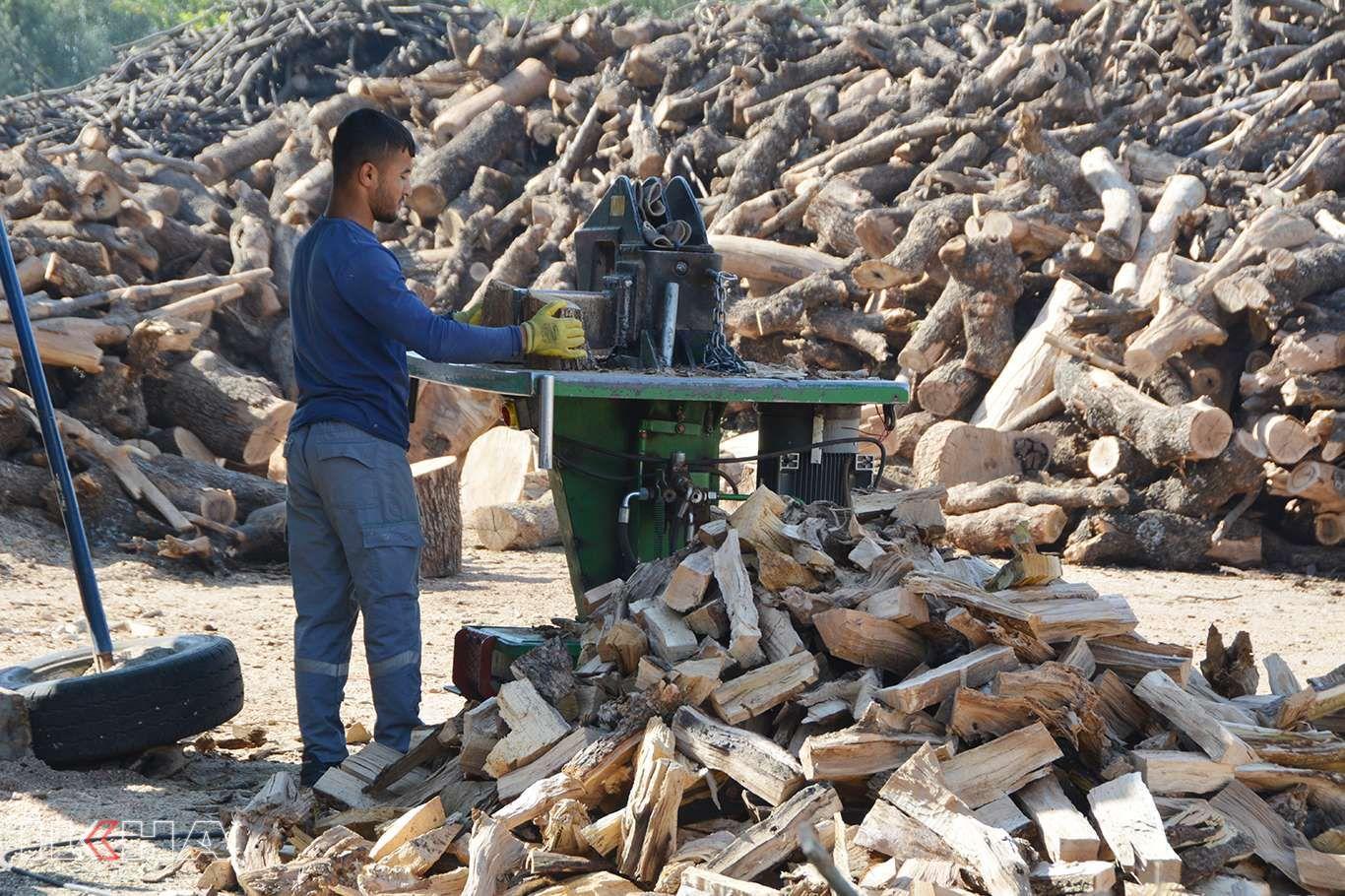 Oduncu esnafından vatandaşlara 'kış öncesi odun alın' çağrısı