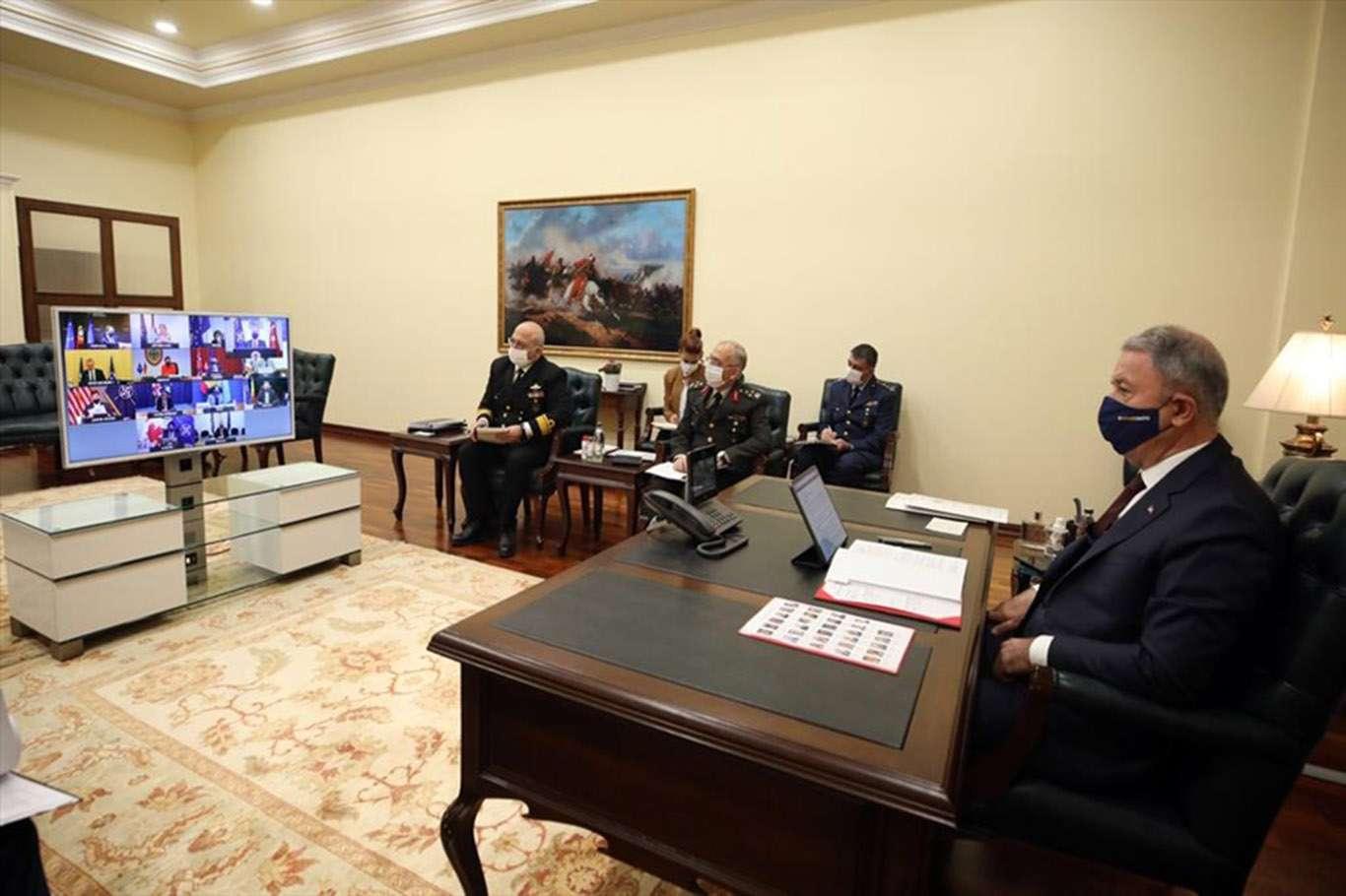 Millî Savunma Bakanı Akar NATO Savunma Bakanları Toplantısına katıldı