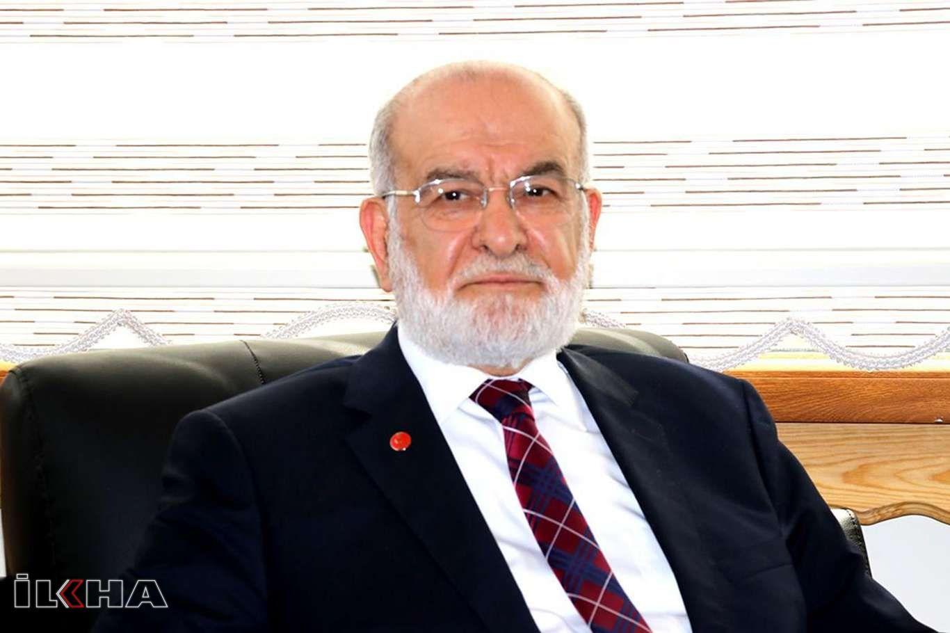 Saadet Partisi Genel Başkanı Karamollaoğlu'dan Macron'a kınama