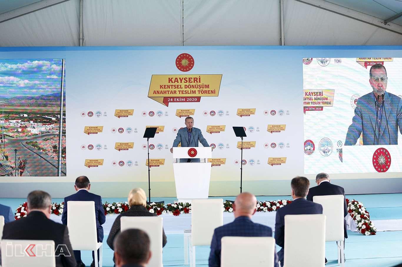 Cumhurbaşkanı Erdoğan İslam düşmanlığı yapan Macron'a tepki gösterdi