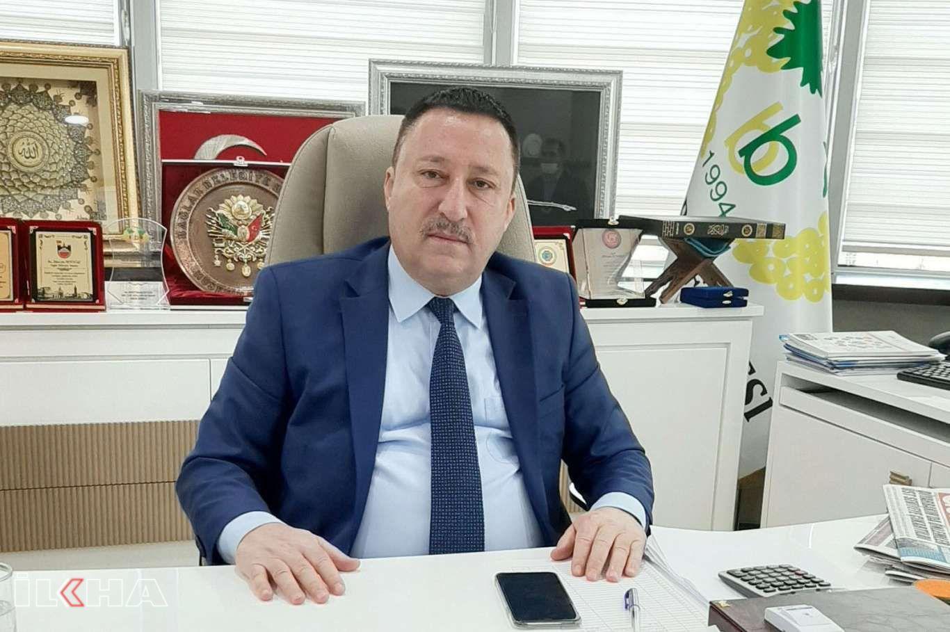 Bağlar Belediye Başkanı Beyoğlu'ndan Mevlid Kandili mesajı