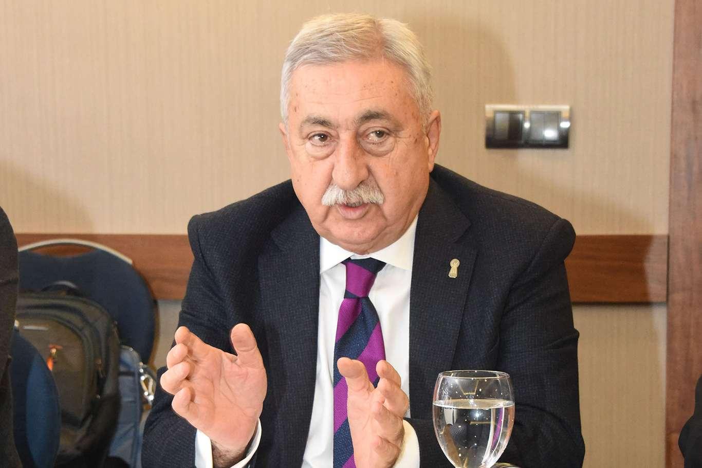 TESK Genel Başkanı esnafın faturalardaki vergilerden muaf tutulması gerektiğini söyledi