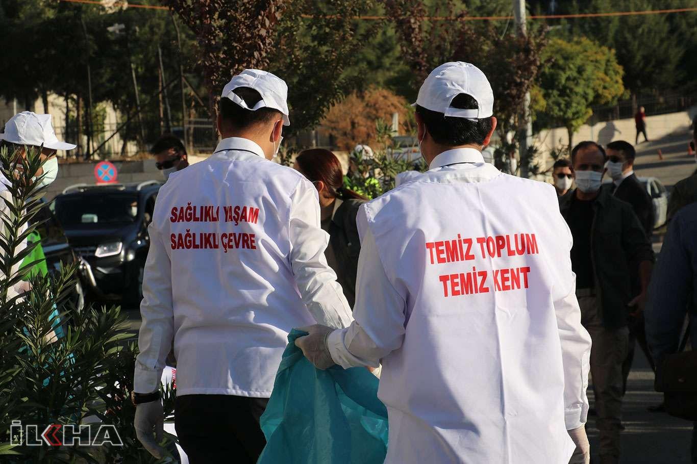 Siirtte Temiz Toplum Temiz Kent sloganı ile temizlik kampanyası