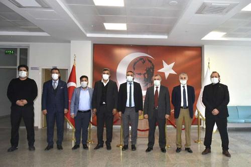 Mardin'de tıp fakültesinin kurulmasını talep eden STK'lardan çalışma ziyaretleri