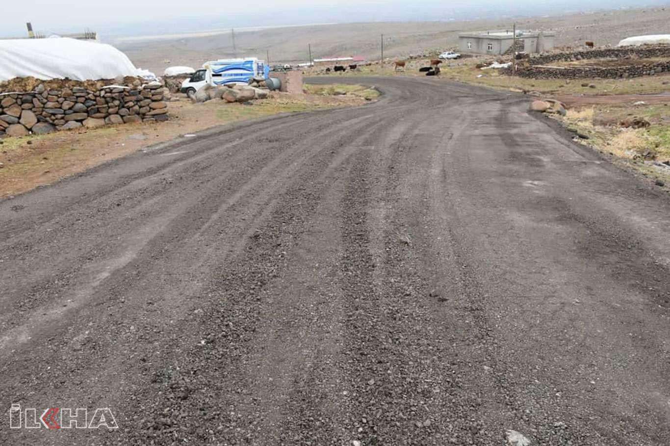 Bağlar Belediyesi 36 mahalleşe 140 kilometre yeni yol kazandırdı