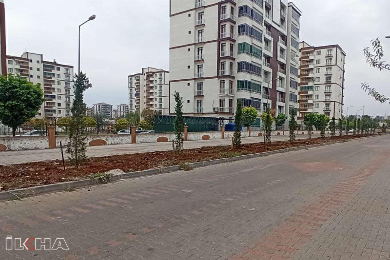 Bağlar Belediyesi, Bağcılar mahallesinde refüj ve ağaçlandırma çalışmalarını tamamladı