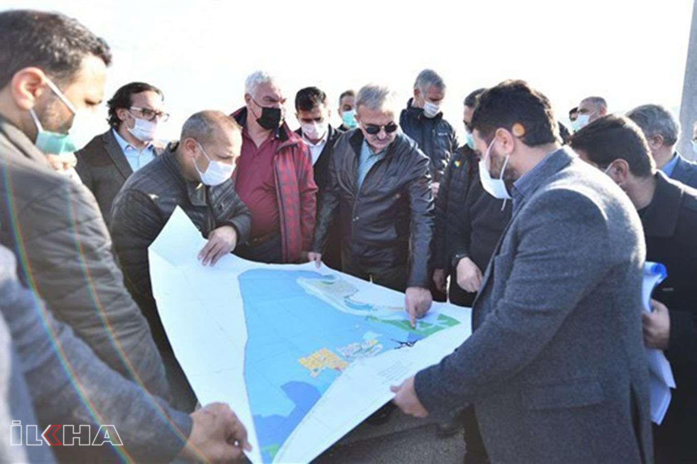 Diyarbakır Valisi, sosyal donatılarla Diyarbakırı Dicle ile buluşturacaklarını söyledi