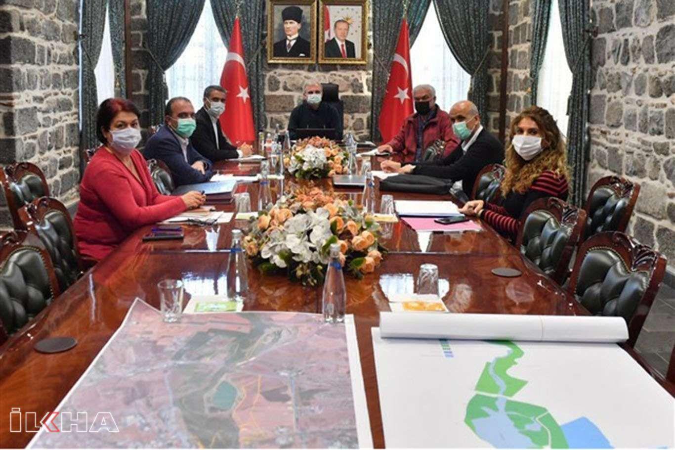 Diyarbakırlıları Dicleyle buluşturacak proje için çalışmalar başladı