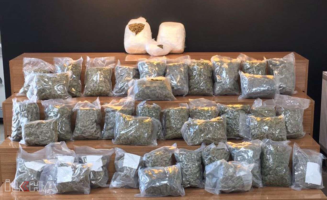 Şanlıurfa'da 26 kilogram uyuşturucu ele geçirildi