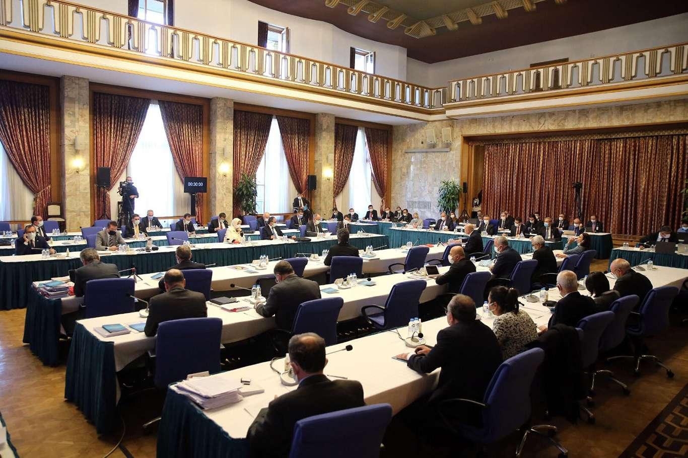 2021 yılı bütçesi komisyonda kabul edildi