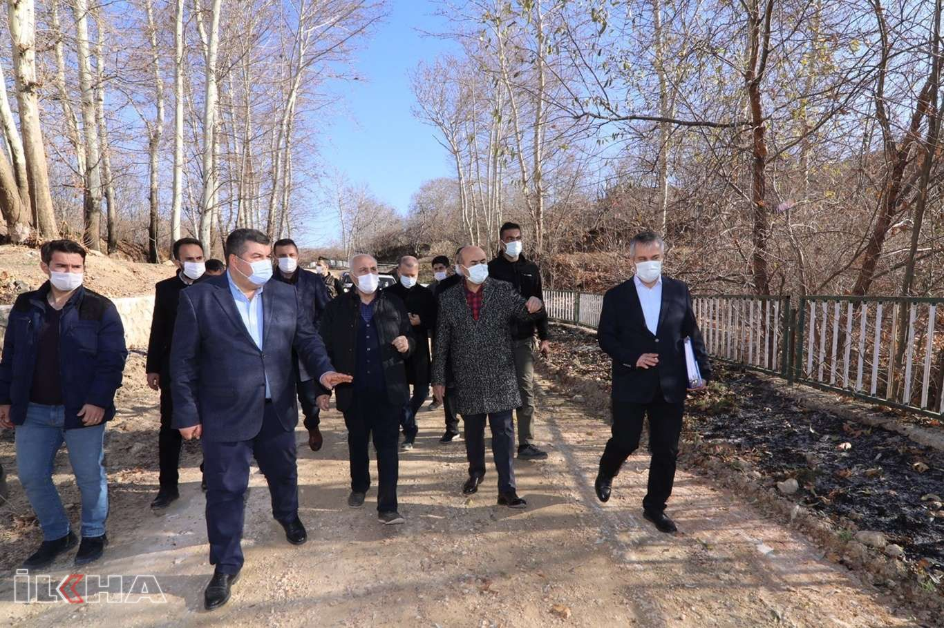 Mardin Valisi Demirtaşın ilçe ziyaretleri sürüyor