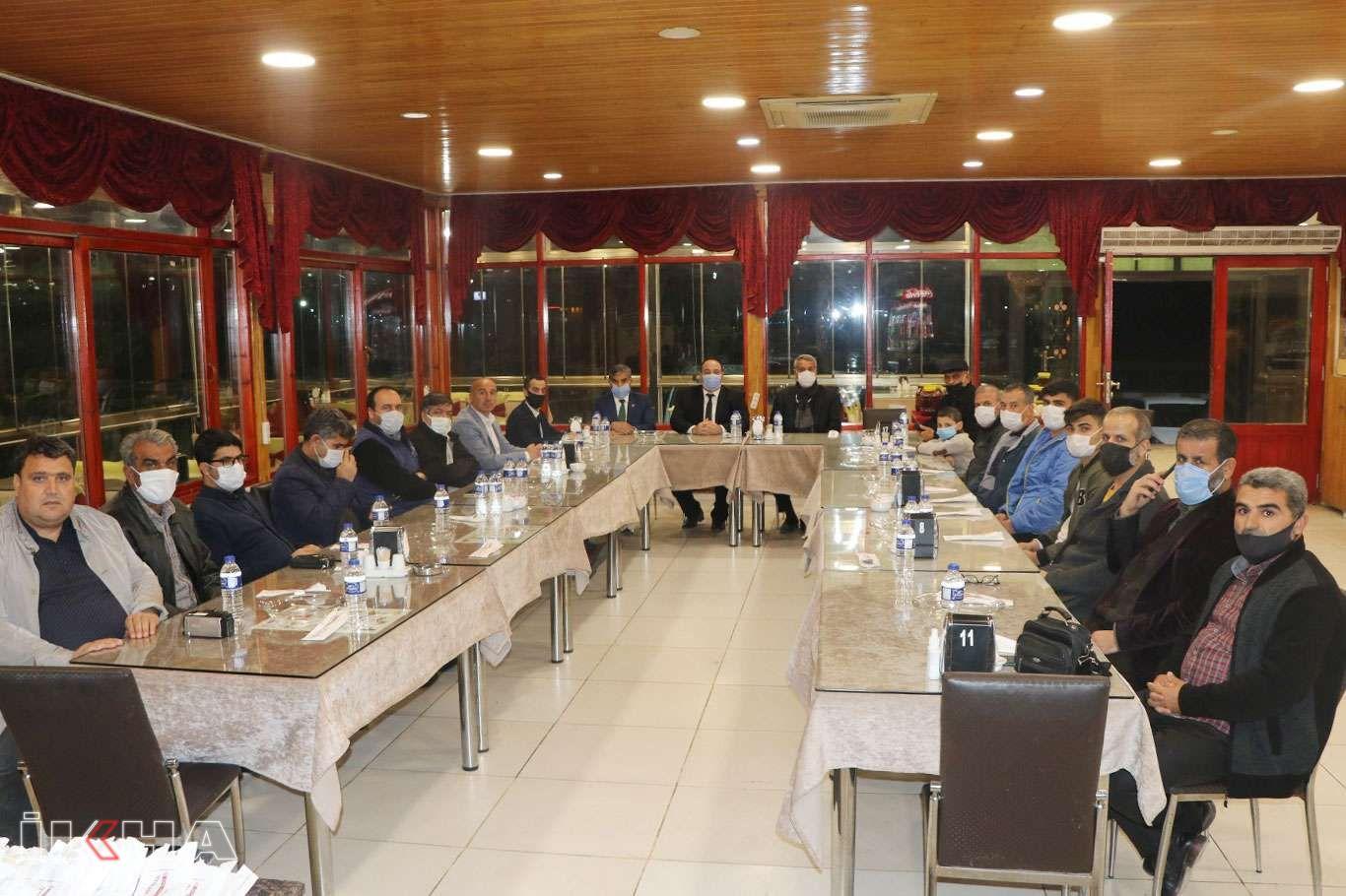 Viranşehir Belediye Başkanı Ekinci basın mensuplarıyla bir araya geldi