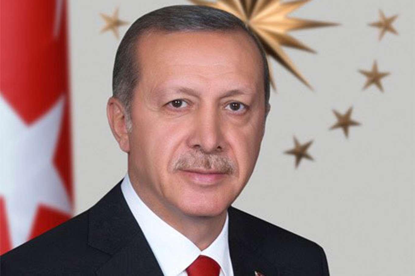 Cumhurbaşkanı Erdoğan Telegrama katıldı