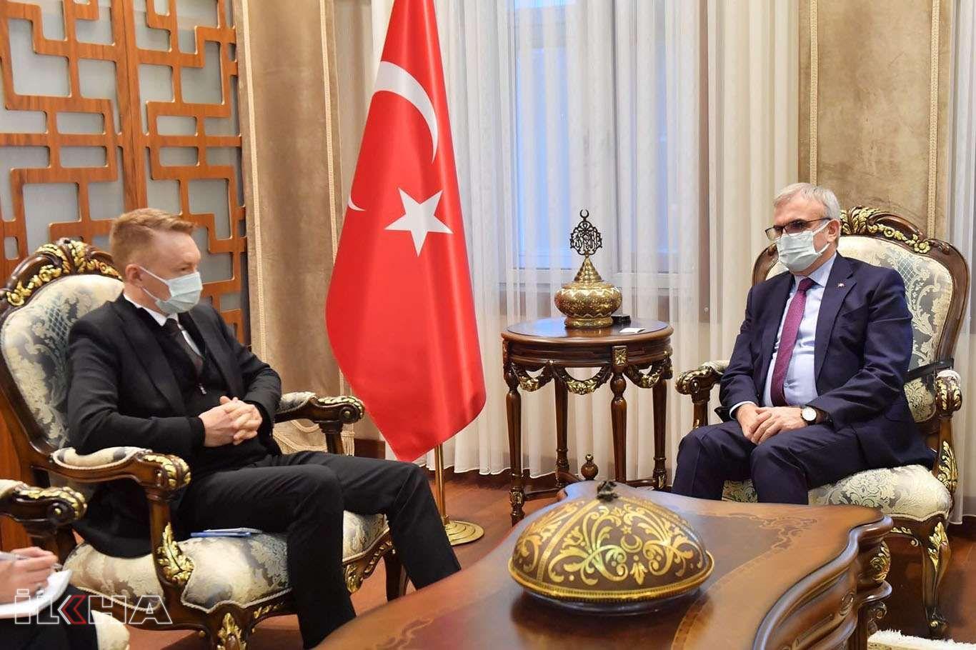 Avustralya Büyükelçisi Marc Innes – Brown Diyarbakırda