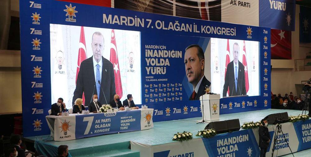 AK Parti Mardin 7. Olağan İl Kongresi yapıldı