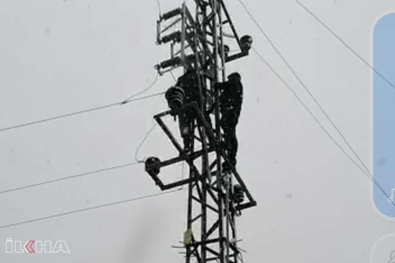 DEDAŞ ekiplerinin gidemediği köylerdeki elektrik arızasını köylüler giderdi